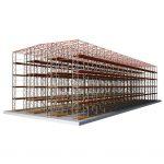 Самонесущие быстровозводимые склады купить недорого с доставкой
